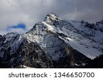 epic snow mountains  snow... | Shutterstock . vector #1346650700