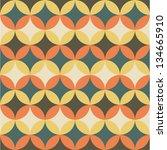 seamless flower geometric... | Shutterstock .eps vector #134665910