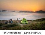 ta xua nature reserve  son la... | Shutterstock . vector #1346698403