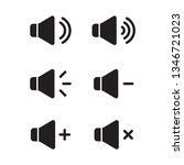 sound icon  speaker vector icon