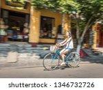hoi an  vietnam  march 2019   a ... | Shutterstock . vector #1346732726
