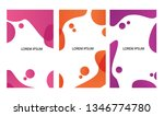 liquid style background. | Shutterstock .eps vector #1346774780