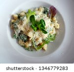 delicious gnocchi spilled with... | Shutterstock . vector #1346779283