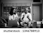 senior indian asian couple... | Shutterstock . vector #1346788913