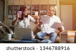 senior indian asian couple... | Shutterstock . vector #1346788916