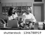 senior indian asian couple... | Shutterstock . vector #1346788919
