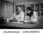 senior indian asian couple... | Shutterstock . vector #1346788940