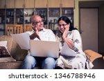 senior indian asian couple... | Shutterstock . vector #1346788946
