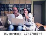 senior indian asian couple... | Shutterstock . vector #1346788949