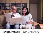 senior indian asian couple... | Shutterstock . vector #1346788979