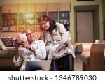 senior indian asian couple... | Shutterstock . vector #1346789030