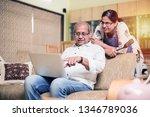 senior indian asian couple... | Shutterstock . vector #1346789036