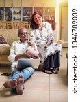 senior indian asian couple... | Shutterstock . vector #1346789039