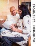 senior indian asian couple... | Shutterstock . vector #1346789063