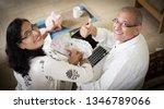 senior indian asian couple... | Shutterstock . vector #1346789066