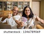 senior indian asian couple... | Shutterstock . vector #1346789069