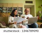 senior indian asian couple... | Shutterstock . vector #1346789090