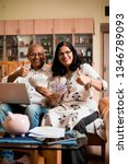 senior indian asian couple... | Shutterstock . vector #1346789093