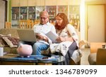 senior indian asian couple... | Shutterstock . vector #1346789099