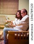 senior indian asian couple... | Shutterstock . vector #1346789120