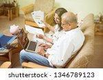 senior indian asian couple... | Shutterstock . vector #1346789123
