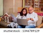senior indian asian couple... | Shutterstock . vector #1346789129