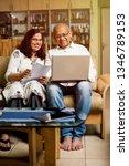 senior indian asian couple... | Shutterstock . vector #1346789153