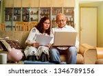 senior indian asian couple... | Shutterstock . vector #1346789156