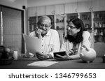 senior indian asian couple... | Shutterstock . vector #1346799653