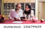 senior indian asian couple... | Shutterstock . vector #1346799659