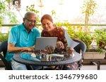 senior indian asian couple... | Shutterstock . vector #1346799680