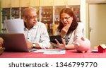 senior indian asian couple... | Shutterstock . vector #1346799770