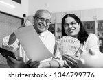 senior indian asian couple... | Shutterstock . vector #1346799776