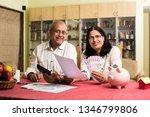 senior indian asian couple... | Shutterstock . vector #1346799806