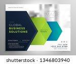 professional brochure... | Shutterstock .eps vector #1346803940
