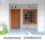 classic design home entrance...   Shutterstock . vector #1346806433