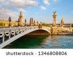 The Alexander Iii Bridge Acros...