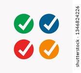 approved logo template | Shutterstock .eps vector #1346824226