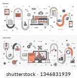 here is a bundle of graphic... | Shutterstock .eps vector #1346831939