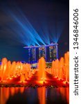 singapore city  singapore  ...   Shutterstock . vector #1346846006