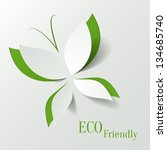 Eco Concept   Green Butterfly...