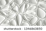 abstract stone texture white...   Shutterstock . vector #1346863850