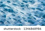 abstract geometry background....   Shutterstock . vector #1346868986