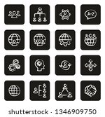 organization or structure icons ... | Shutterstock .eps vector #1346909750
