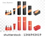 shoeshine cosmetic care... | Shutterstock .eps vector #1346943419