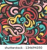 seamless pattern | Shutterstock . vector #134694350