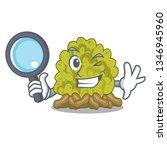 detective miniature green coral ...   Shutterstock .eps vector #1346945960