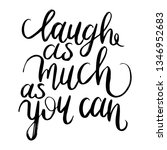 inspirational quote.... | Shutterstock .eps vector #1346952683