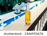 cool refreshing bottle of lager ...   Shutterstock . vector #1346953676