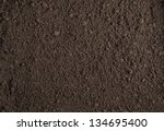 soil texture background | Shutterstock . vector #134695400